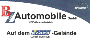 BZ Automobile in Lübeck-Buntekuh Logo